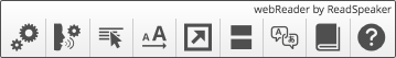 Image of the toolbar